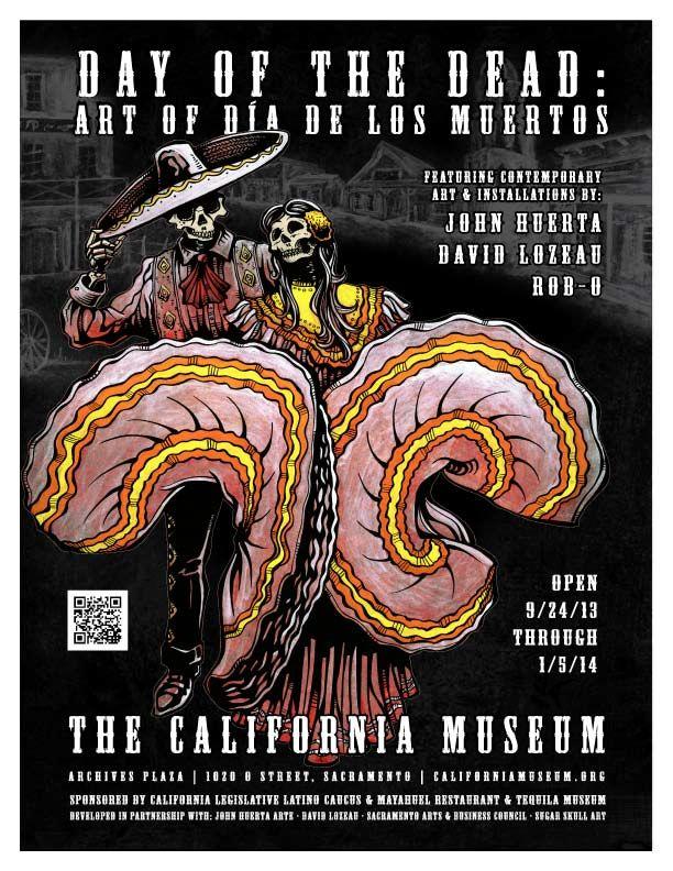 Day of the Dead: Art of  Dia de los Muertos flyer